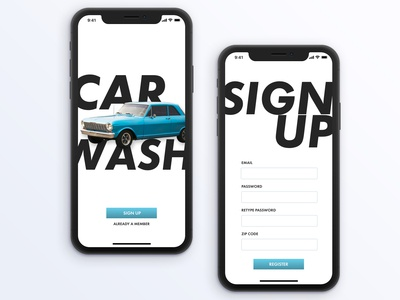 Daily UI Challenge 001: A Sign Up