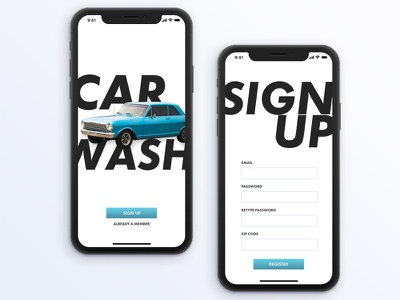 Daily UI Challenge 001: A Sign Up typography mobile app design photoshop sketch dailyui001 dailyui