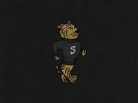 A design for standard and strange. #design #byhand #tiger