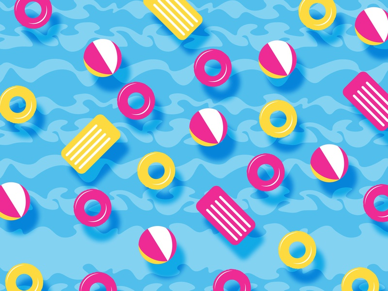 Bola Loca Pool Party | Packaging Design for Lheritier pattern design pattern candies bolaloca brand identity graphicdesign design lollypop packagingdesign packaging design packaging