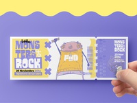 Little Monsters of Rock | Concept - Brand & Visual