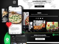 Almacén de Pizzas | Site Design