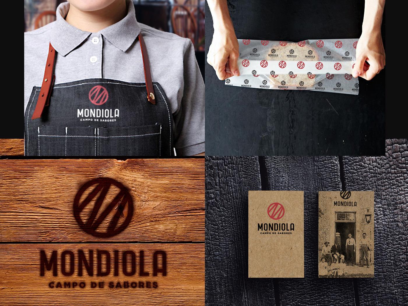 Mondiola | Branding monogram asado graphic design food truck restaurant logo illustration identity design brand strategy branding