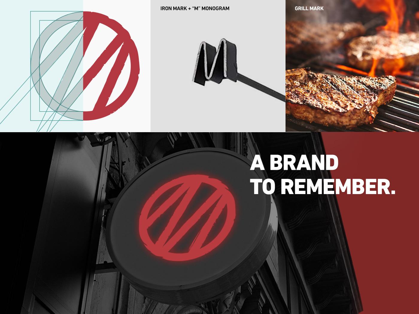 Mondiola   Branding monogram asado graphic design food truck restaurant logo illustration identity design brand strategy branding