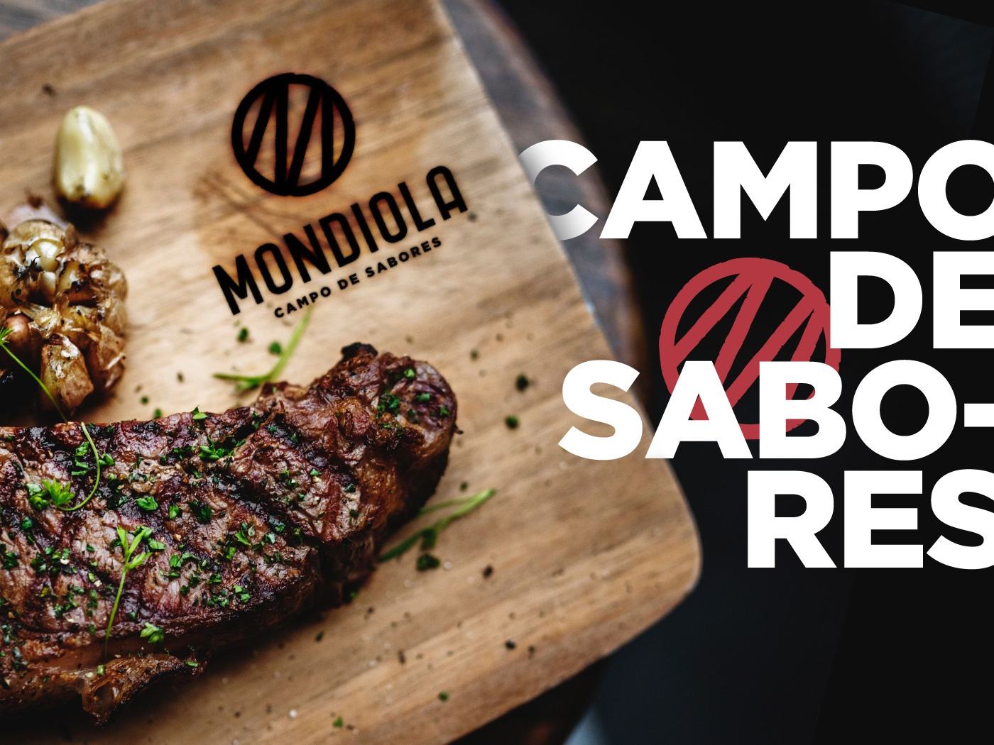 Mondiola | Branding monogram asado graphic design food truck restaurant logo illustration identity design brand strategy branding