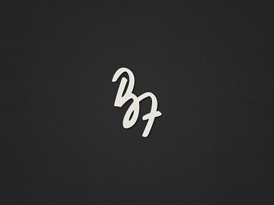 BZ logo handdrawn signature