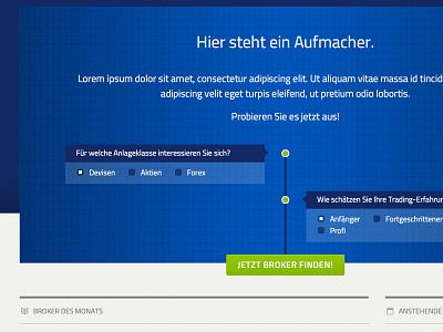 Header website html css minimal hero