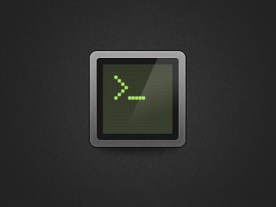 Command Line photoshop screen icon