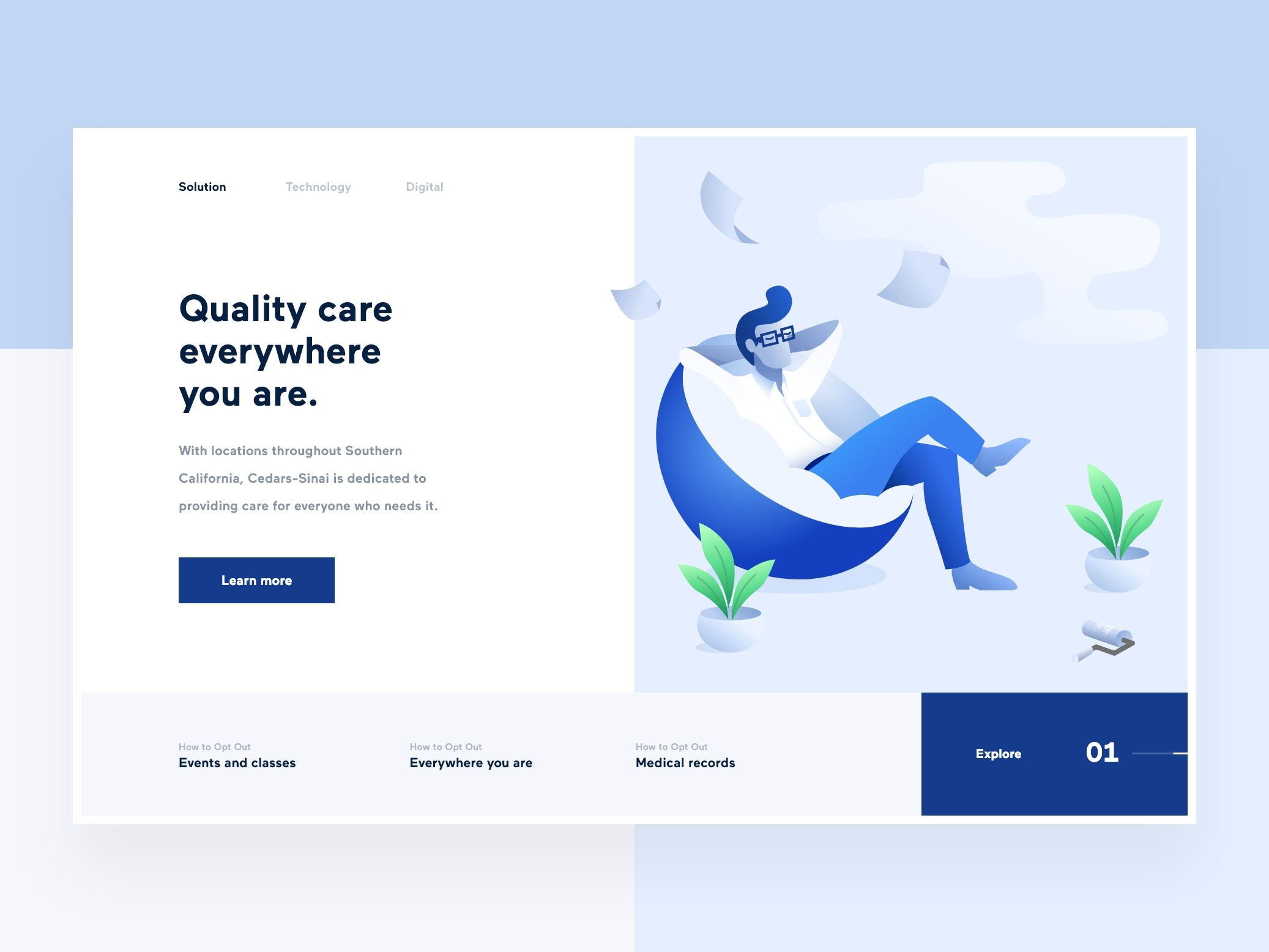 Medical Clinic by Cooper & Cooper on Dribbble
