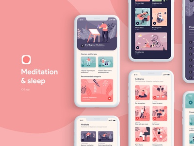 Meditation Sleep iOS App