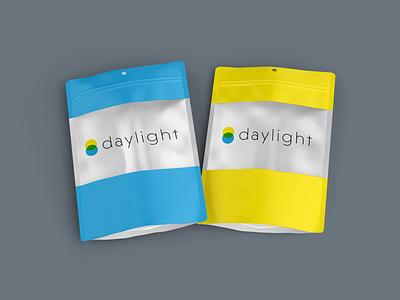 Daylight Cannabis package design minimalistic logodesign minimal design branding brand identity branding design packaging packagedesign