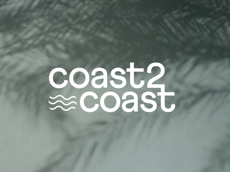 Coast2Coast Brand Identity designer brand brand design minimalistic logodesign branding design design branding minimal brand identity
