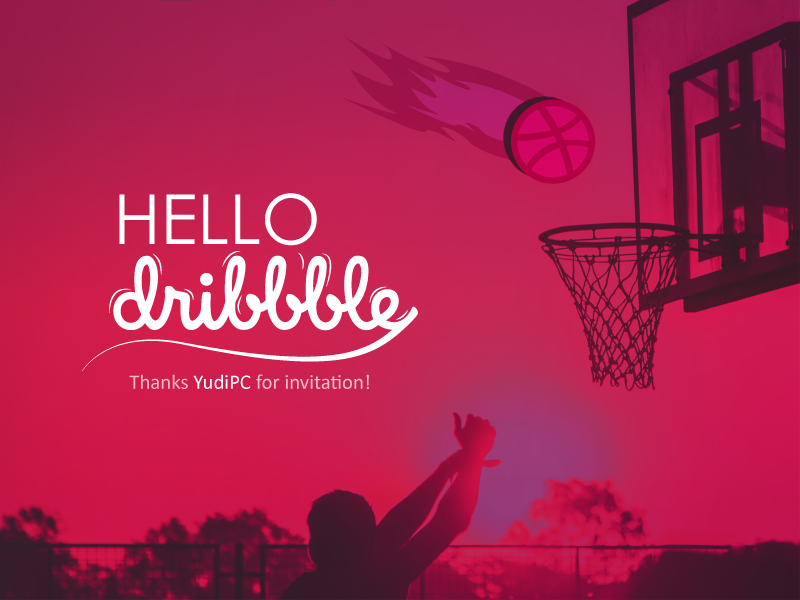 Hello Dribble dribble invitation hello dribble debut