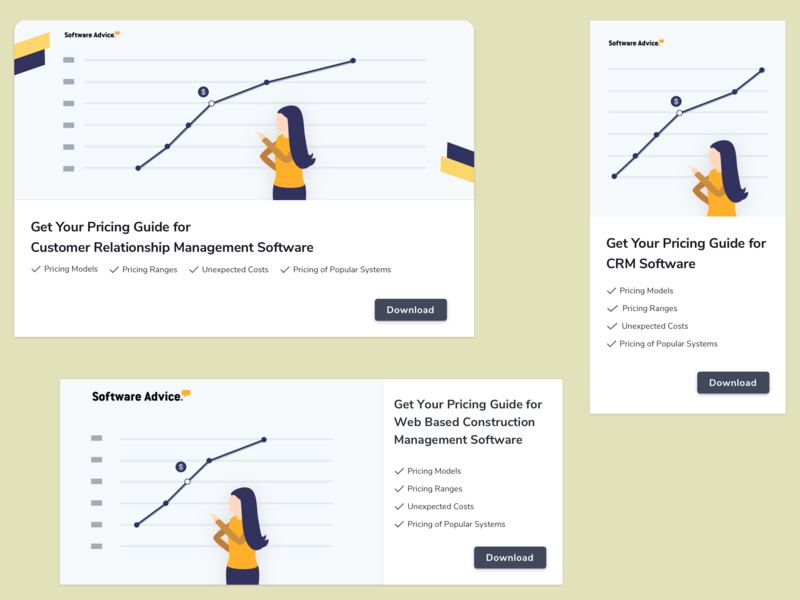 Pricing Guide - CTA design concept content strategy copy ui download pricing cta