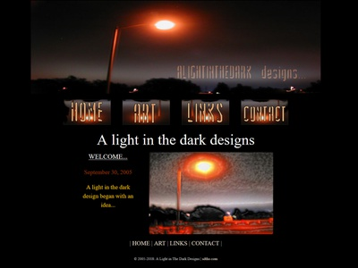 a light in the dark... wip portfolio web designer artist artwork web design design art web ux ui sdtho html5 css3 coder bootstrap4 bootstrap 4 bootstrap macromedia dreamweaver8