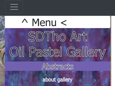 Oil Pastels Abstract Art Gallery BootStrap4 PopUp - HTML5 , CSS3 bootstrap4 coder ux wip artist abstract design css3 css html5 html gallery abstract art art gallery art abstract