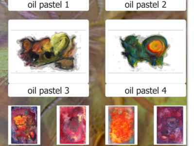 Oil Pastel Artwork Abstract Art Gallery Oil Pastels