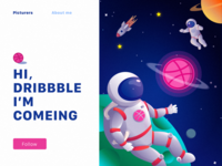 Dribbble Earth
