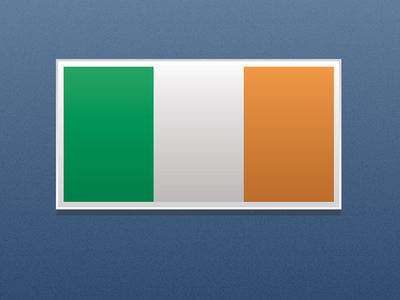 Save The Date – Flag ireland flag save the date wedding