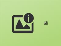 Picture Info Icon