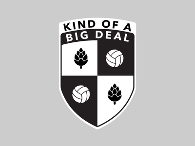 Koabd Crest Options Shield 2 hops soccer shield crest connecticut
