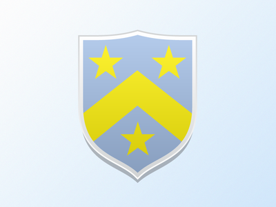 Simple Shield Harvey shield coat of arms