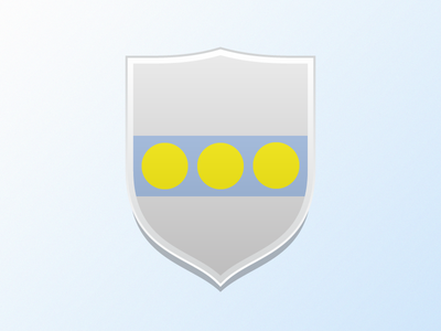 Simple Shield Pelletier shield coat of arms