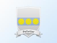 Current Coat of Arms · Pelletier