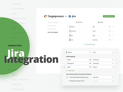 Jira Integration web settings integrations jira targetprocess