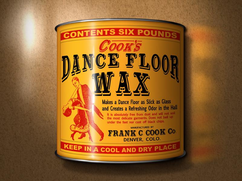 Cook S Dance Floor Wax By Marisa Antonello On Dribbble