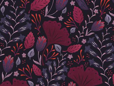 Leaves pattern illustrator texture leaves art licensing surface pattern design art nature flowers illustration pattern