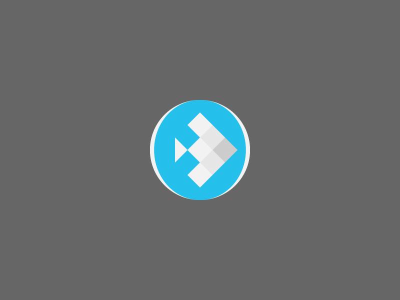 Fishbowl logo identity branding vector fish bowl water