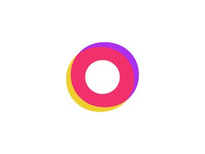 Intersectionality vc venture capital branding logo overlap intersection o ring venn diagram