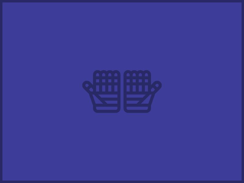 Hands / Gloves vector illustration line gloves hands