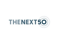 The Next 50 identity icon government 50 rings circle minimal branding logo vector