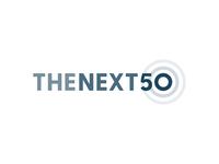 The Next 50 identity icon government 50 rings circle minimal branding logo vector
