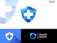 Blue Health Shield Logo Concept!