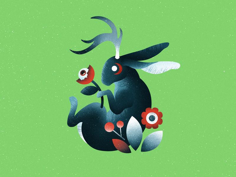 Shader Brushes for Affinity texture grit plants eye rabbit hare noise grain shader shade brushes affinity designer