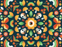 Shader Brushes for Affinity #2 illustration kaleidoscope noise grit affinity texture butterfly plants flower eye brushes grain shader skull