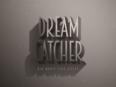 Noir Retro Photoshop Text Effects text styles vintage text effects retro effects retro photoshop old mockups add-on