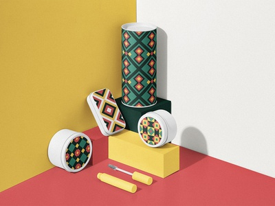 Portuguese Geometric Patterns #2