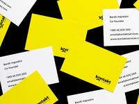 Kontakt Services — Brand Identity