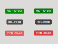 Web Piggy Bank - Buttons CSS3