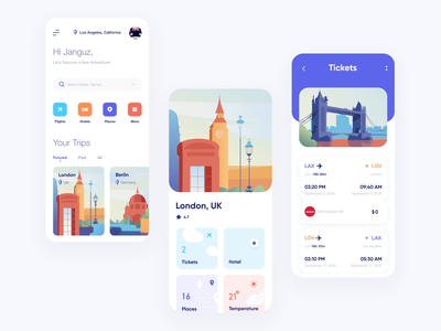 Copy Trips manager ios mobile interaction application ui ux design mobile animotion motion typography andriod mobile design app vector illustration illustration design interactions illustration motiongraphics interaction design motion graphic city illustration travel app