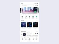 Music software interface design Interactive manuscript