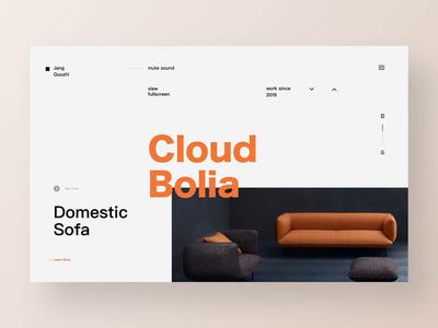 Domestic Sofa/Website Animation Concept