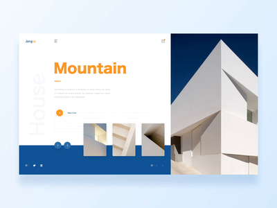 Mountain/Hofmann House/Website Animation Concept