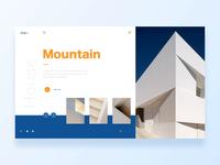 Mountain/Hofmann House/Website Animation Concept