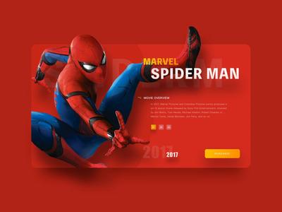 Spieder Man/Iron Man/Captain America/Website Animation Concept