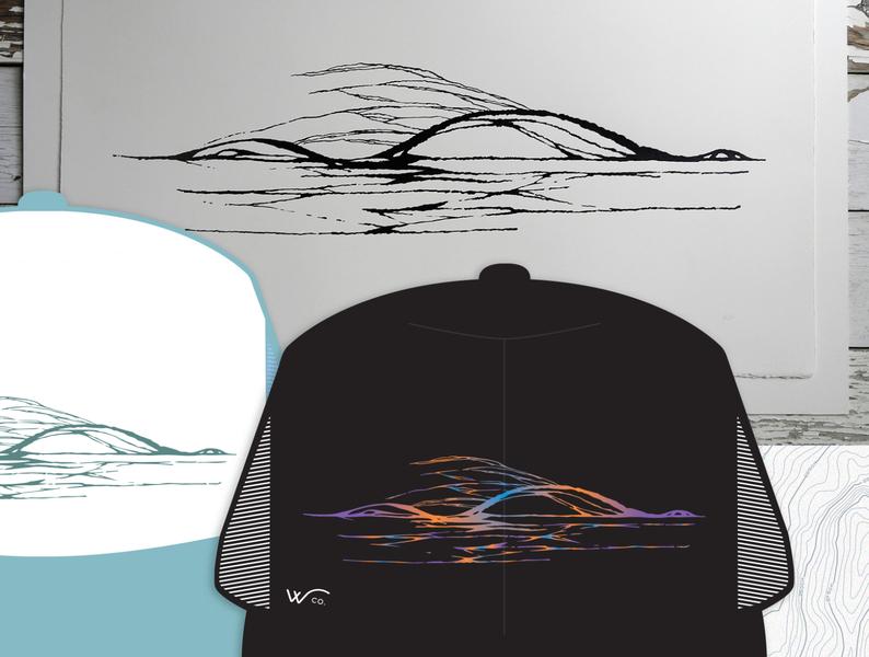 Broken River - Wco hat graphic